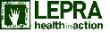 Lepra Health in Action logo