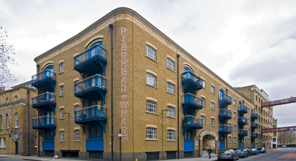 Pierhead Wharf, Wapping, London E1