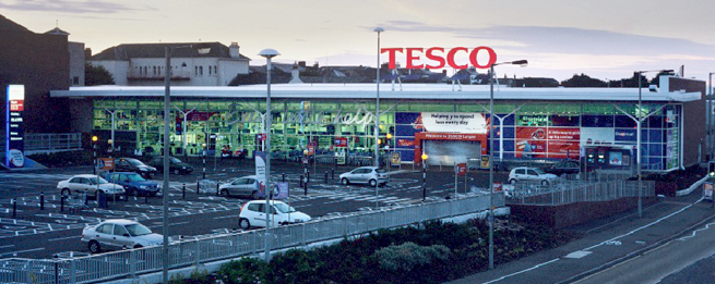 Tesco Supermarket, Lurgan