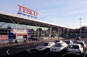 Tesco Supermarket, Carrickfergus, County Antrim